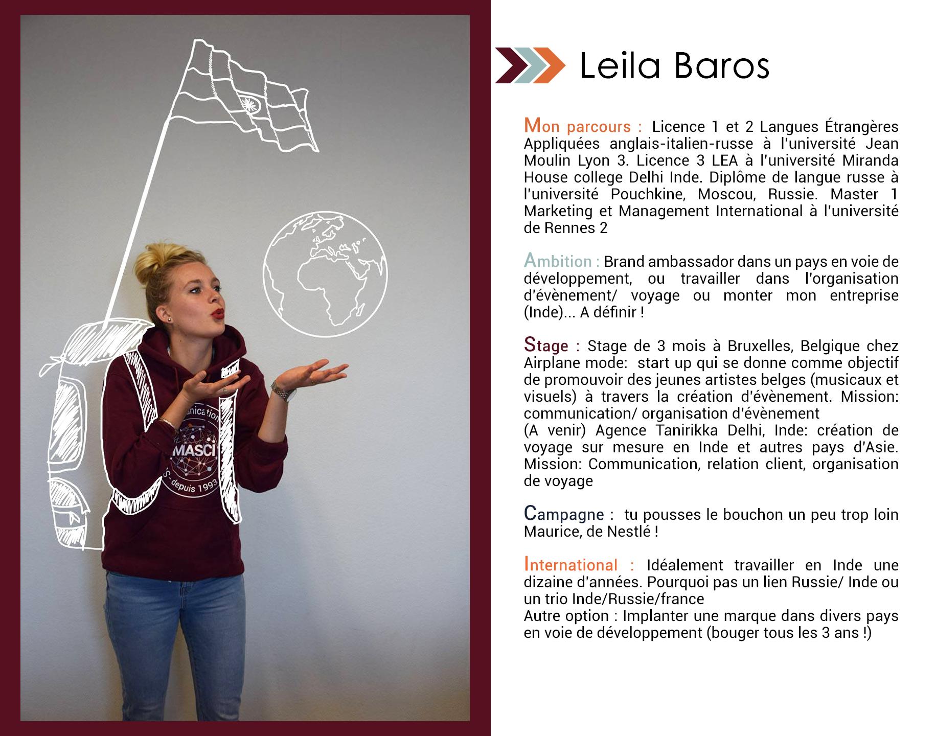 Leila Baros Master Masci Communication Ub Dijon